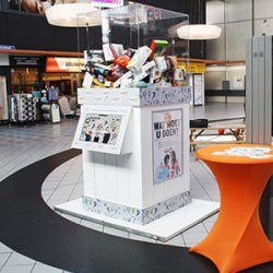 Winkelcentrumpromotie raadbak XL