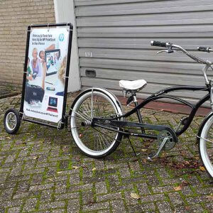 Fiets adverteren Marketing