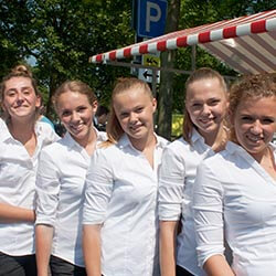 Catering promotieteams dames