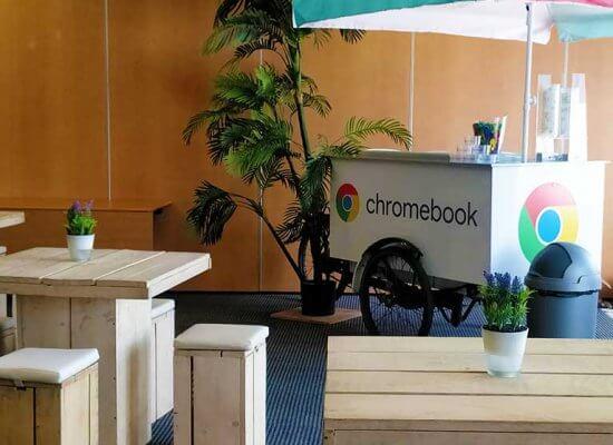 Google IJskar Custom Made chromebook