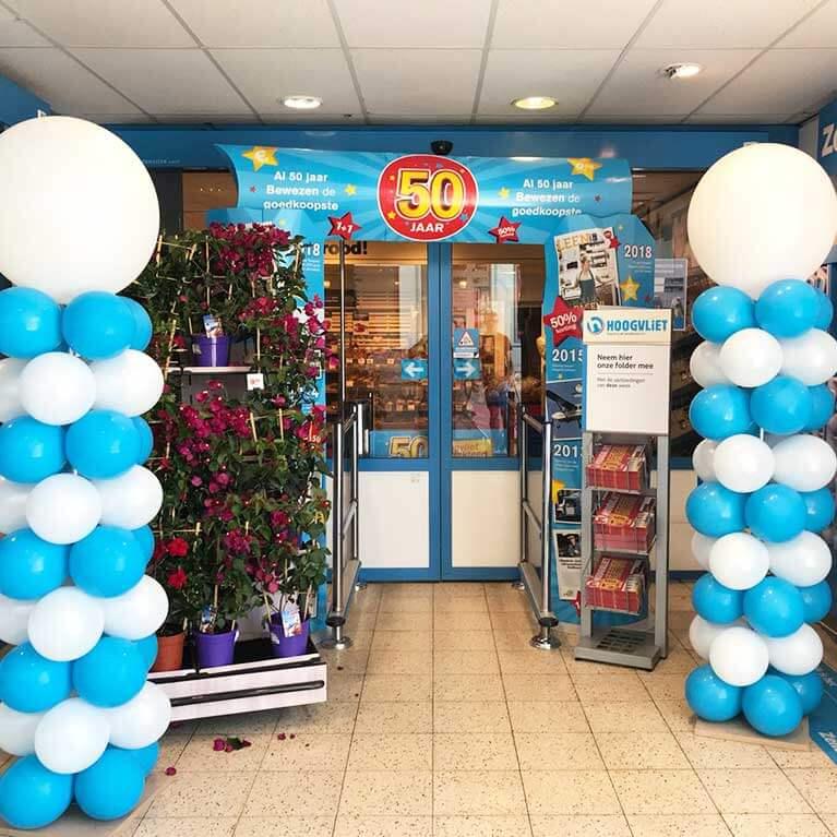 Winkelpromotie Jubileumfeest Hoogvliet