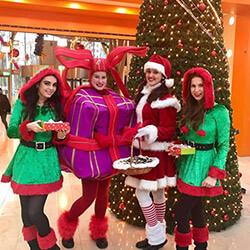 Promotieactiviteiten Kerst promotiebureau Entertainment
