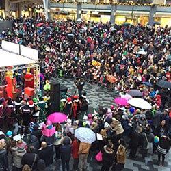 Promotieactiviteiten Sinterklaas winkelcentrumpromotie