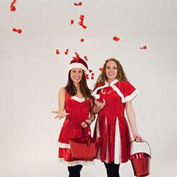 Promotieactiviteiten Kerst promotieteam