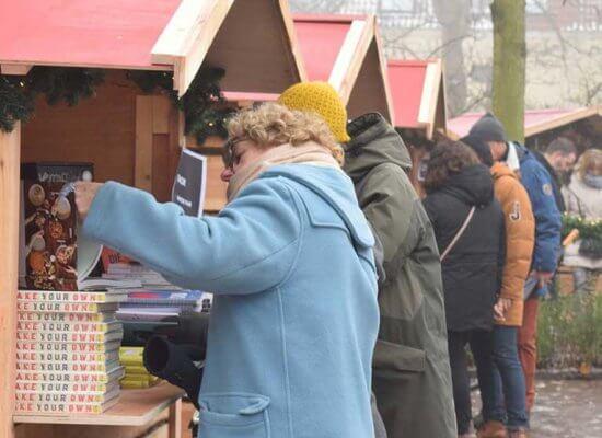 Kerstmarkt Utrecht Huisjes Kramen
