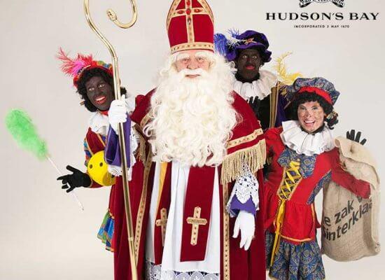 Sinterklaas voor Hudson's Bay