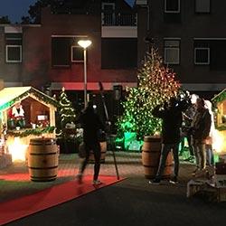 TV opnames Talpa Kerst evenement