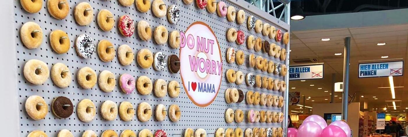 Moederdag actie do nut worry Donut voor mama