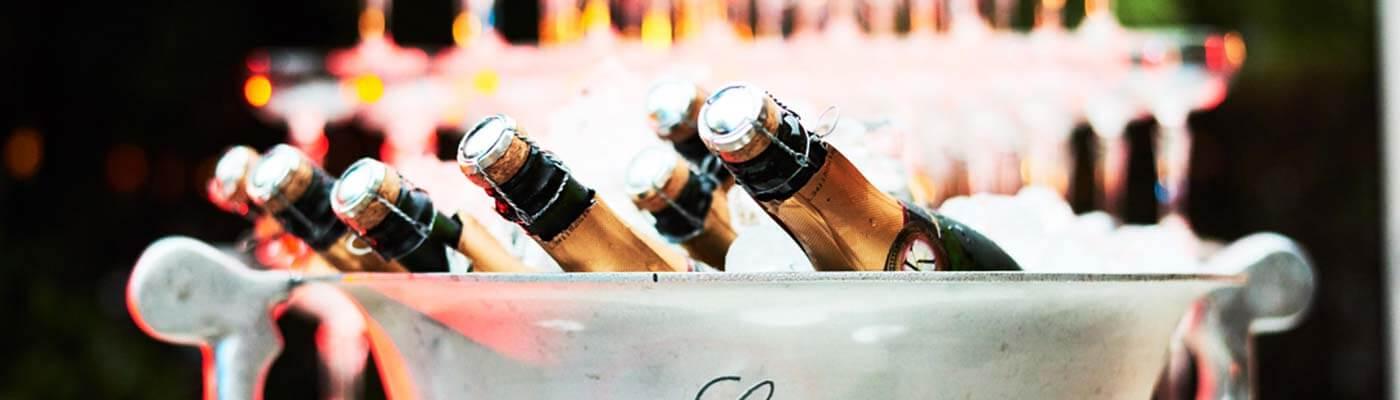 Bedrijfsevenement Champagne Borrel Receptie