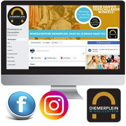 Social Media Beheer Uitbesteden Instagram Facebook Diemerplein