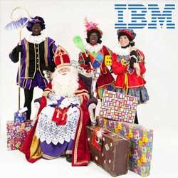 Bedrijfsfeest Sinterklaas IBM compleet